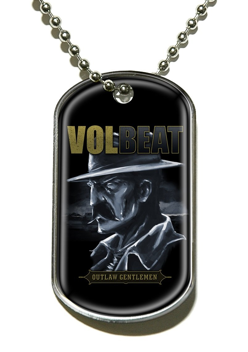 Outlaw Gentlemen Dog Tag Kette Volbeat Rmz (Nonstop Music Records)