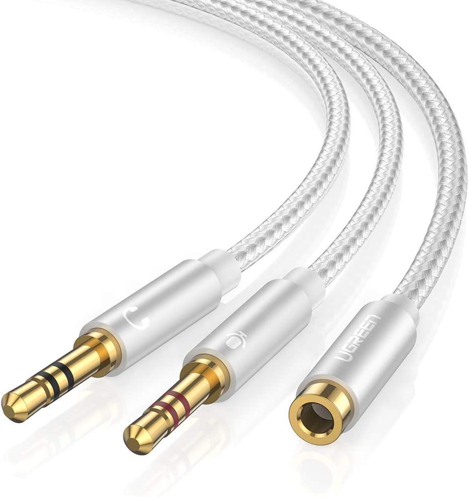 3,5 mm Klinke Stecker auf Buchse Audio Adapter Right angled Steckverbinder