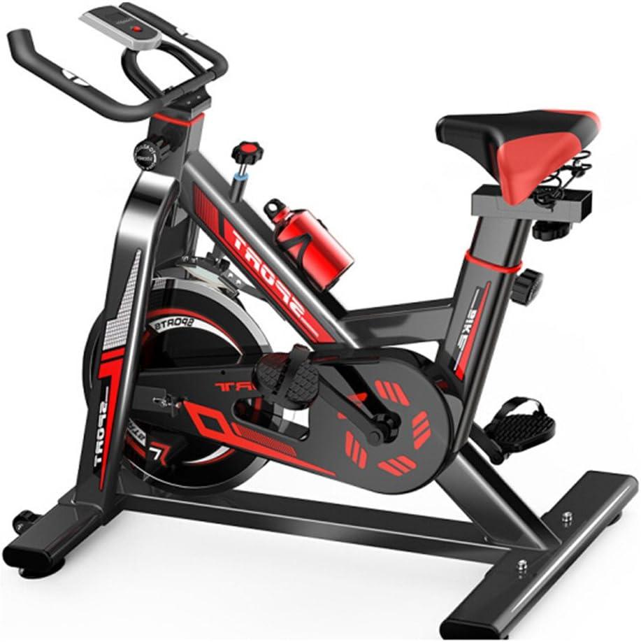屋内サイクリングエアロバイク、 ホームスピニング自転車超静かなエクササイズバイク屋内エクササイズ自転車フィットネス機器