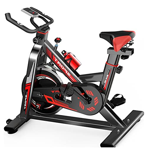 Bangxiu Bicicleta estática de Fitness Home Spinning Bicycle Ultra ...
