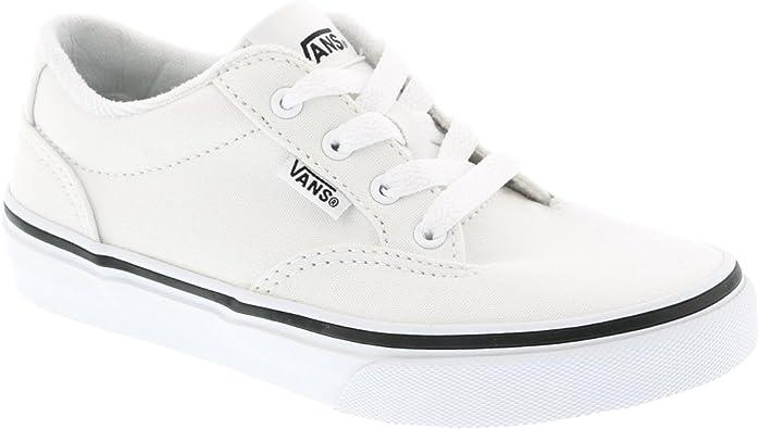 Diploma tranquilo Reactor  Vans - Zapatillas para niño, Color Blanco, Talla 34: Amazon.es: Zapatos y  complementos