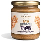 Sun & Seed - Raw Organic Nut Butters and Spreads - Gluten-Free and Keto Friendly - Ultra Nutritious and Healthy (250g) (Walnu