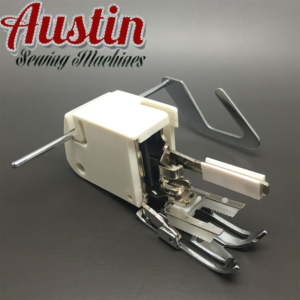 Austin ™Sewing Machine Screw-on Even Feed Walking Foot with Quilt Guide for Brother Singer Janome