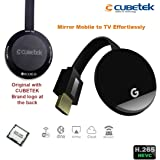 CUBETEK Wecast E68 Wireless Display Dongle for Mirroring , Miracast, Screen Mirroring, Airplay, DLNA