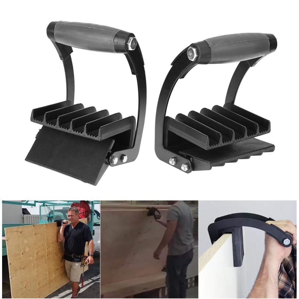 ANJUYA sy Gorilla Gripper Handy Grip Board Lifter Plywood Wood Panel Carrier Home
