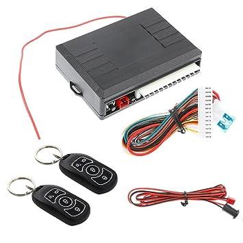 Trentyest - Sistema de Alarma Universal para Coche con Mando ...