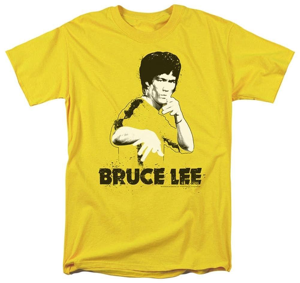 Trevco Bruce lee traje de la salpicadura de la camiseta para ...