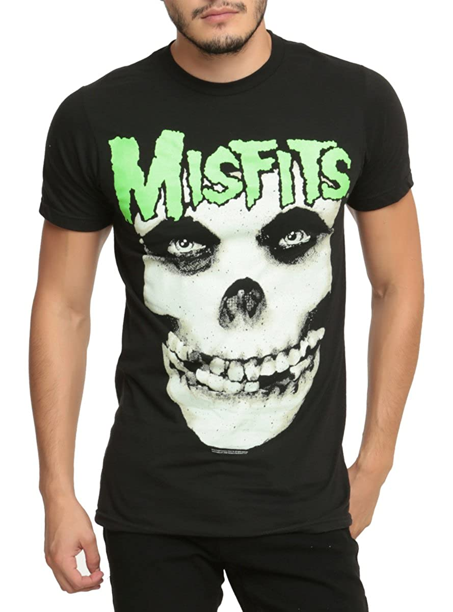 Hot Topic Misfits Jurek Skull T-Shirt