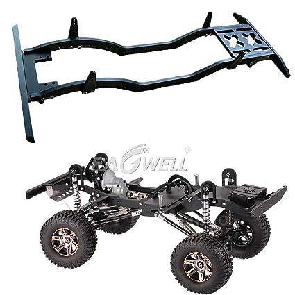 For 1:10 Axial SCX10 RC4WD D90 JK Model Metal Car Defender Frame Set Black