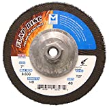 Mercer Industries 263H040 Zirconia Flap Disc, High