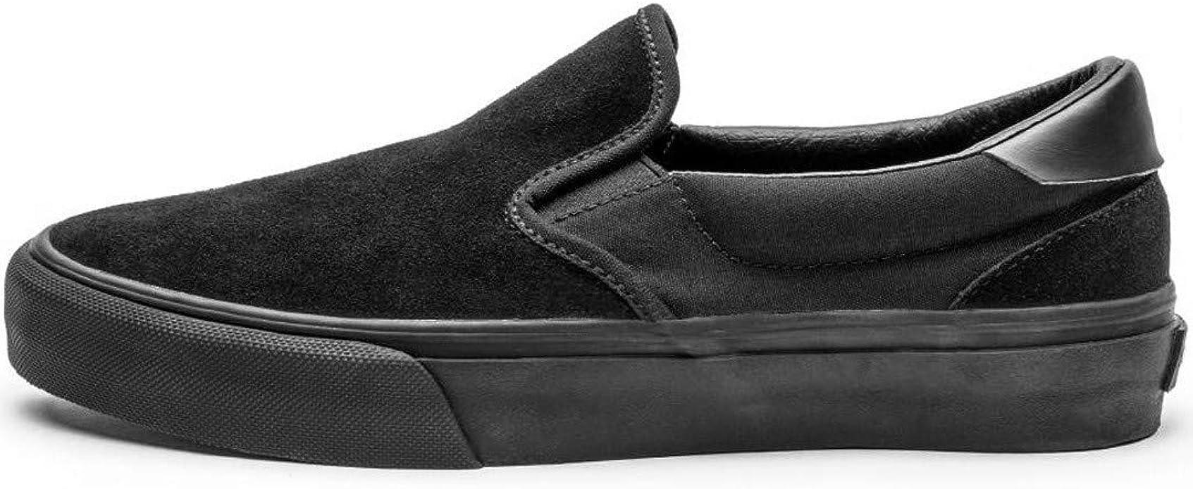 Black Suede Skate Shoes