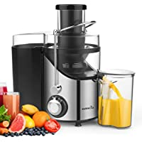 EASEHOLD Centrifugeuse Fruits et Légumes Extracteur de Jus Electrique Double Vitesse
