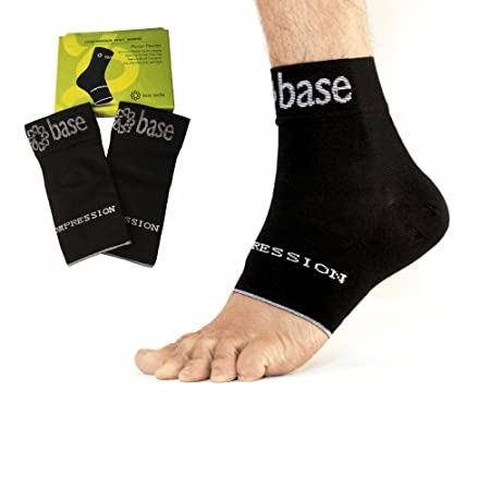 Orthotics Compression Sock Sleeves (1 Pair) for Plantar Fasciitis Foot & Ankle Arch Support - Pain Relief for Men & Women