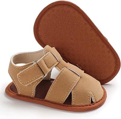 Newborn Baby Kids Girl/&Boy Letter Shoes Sandals First Walker Soft Sole Shoes