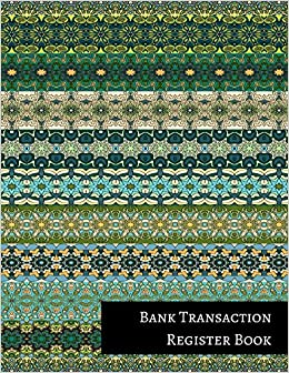 amazon com bank transaction register book 9781521255612 insignia