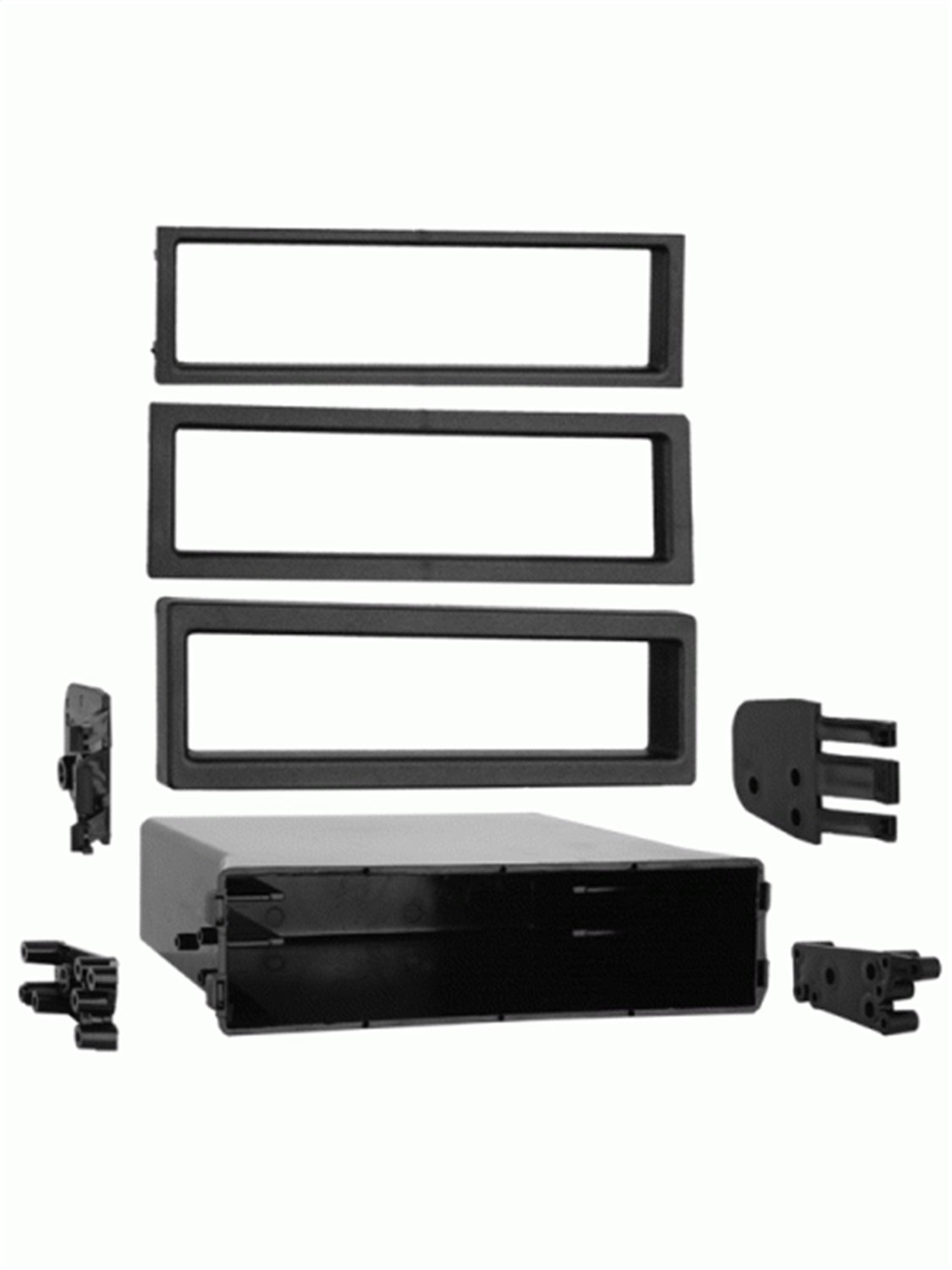 Metra 88-00-9000 Single DIN Pocket Radio Installation Kit For Select 1982-2004 Ford/Mazda/Nissan/Toyota/Volvo Vehicles Metra Electronics Corporation