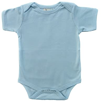 c6c8bc5cc Amazon.com  100% Organic Cotton Baby Onesie Bodysuit by Lukeeno ...