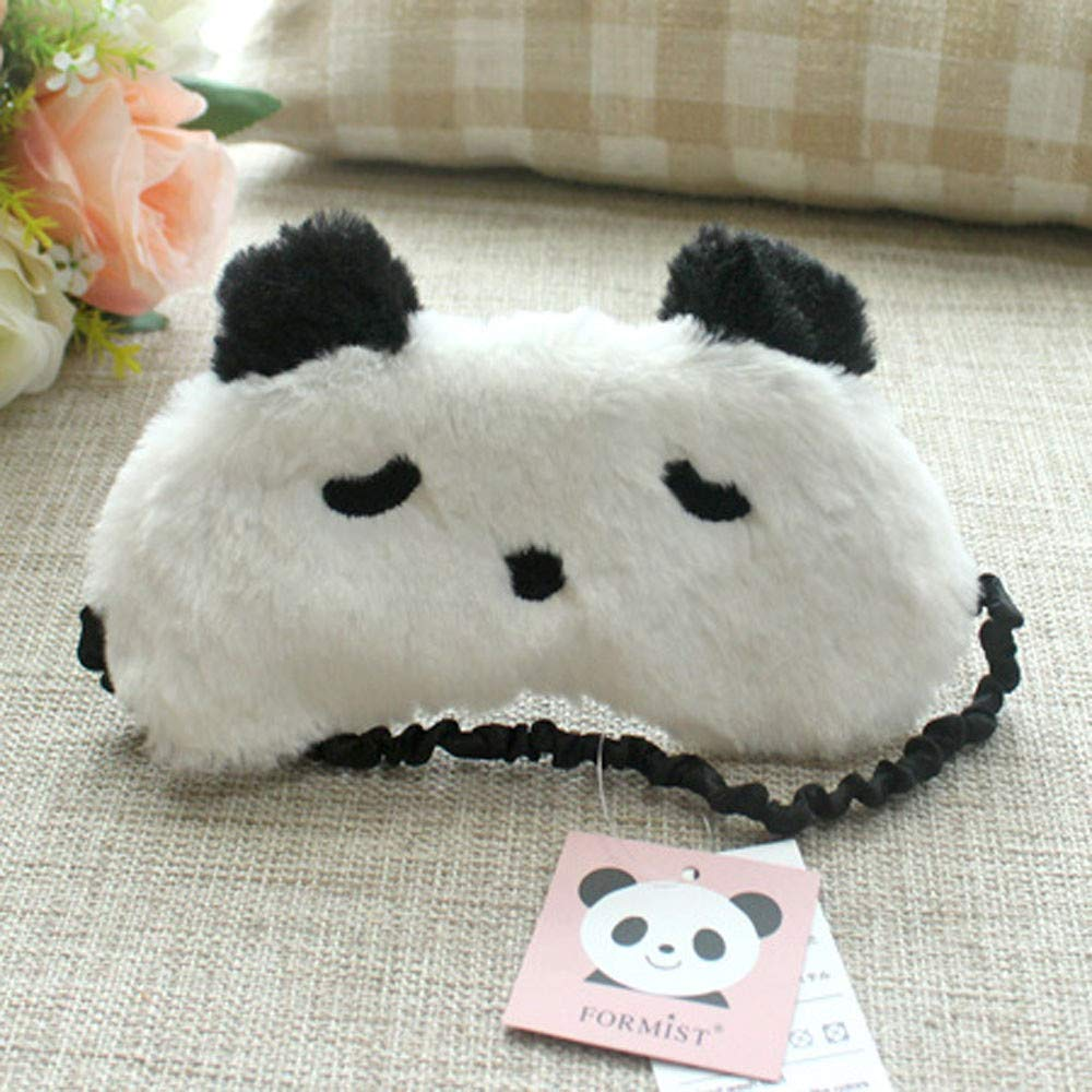 New Cartoon Animal Fashion Shading Breathable Lunch Break Sleep Travel Eye Mask