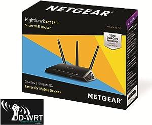 DD-WRT Netgear Nighthawk R6700 AC1750