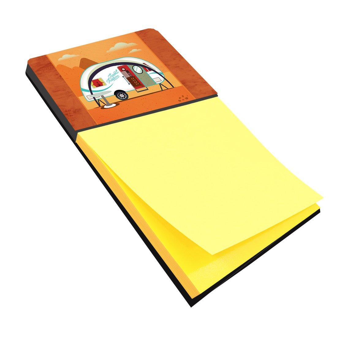 Caroline's Treasures Desk Artwork Notepad Holder, Multicolor (BB5480SN)