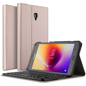 IVSO Samsung Galaxy Tab A 8.0 Teclado Estuche [QWERTY Layout], Samsung Galaxy Tab