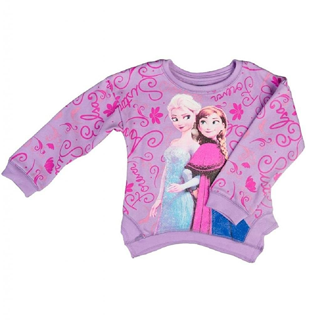 Disney Frozen Little Girls' Toddler Fleece Pullover Sweatshirt Freeze FESS075-2T