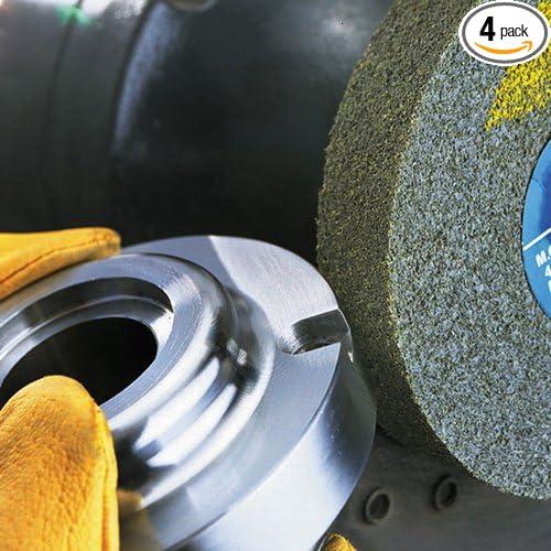 3M Scotch-Brite CP-UW Unitized Aluminum Oxide Medium Deburring Wheel - Coarse Grade - Arbor Attachment - 6 in Dia 1/2 in Center Hole - Thickness 1/2 in - 7500 Max RPM - 03708 [PRICE is per CASE]