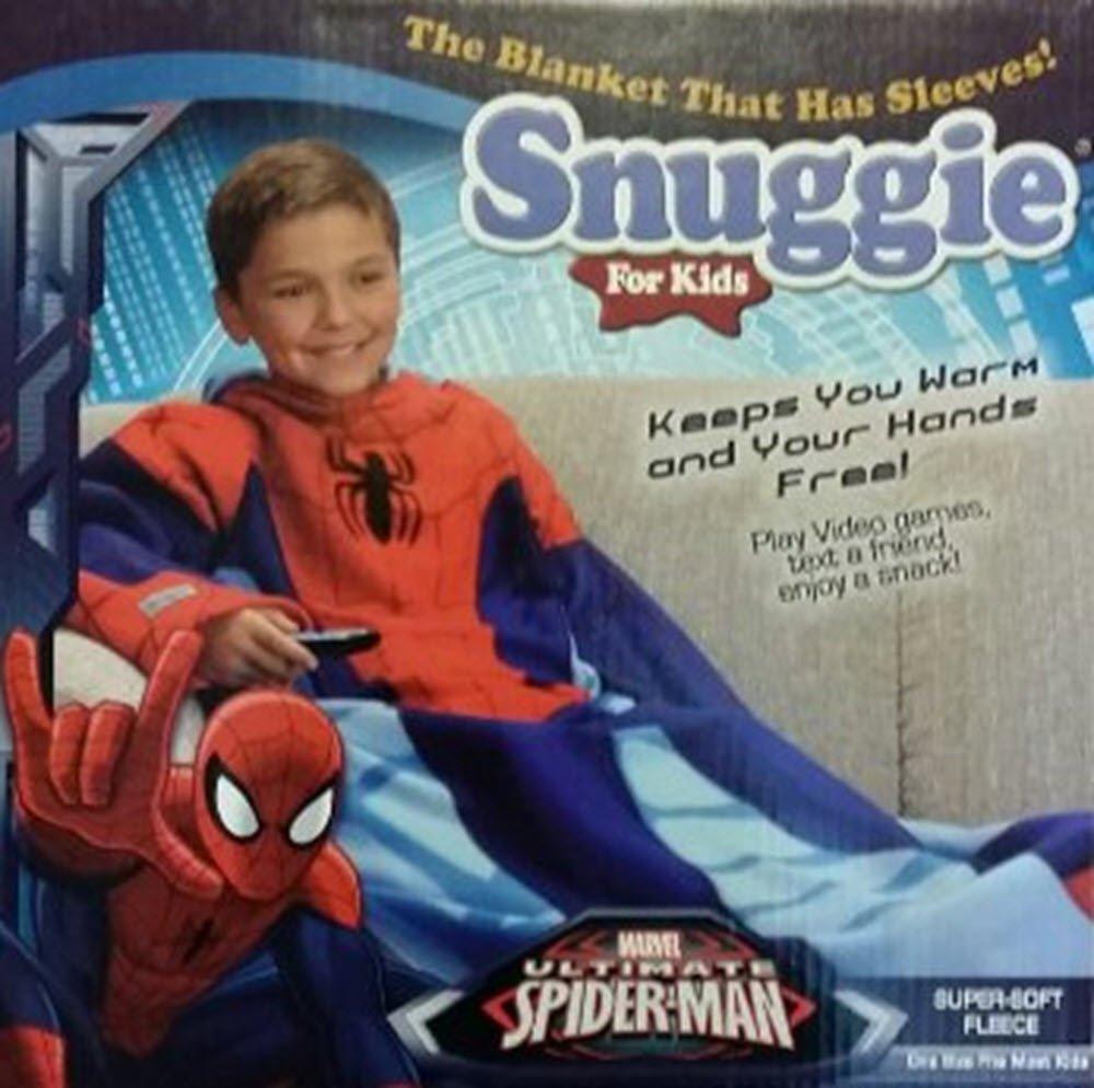 amazon com snuggie for kids spider man home u0026 kitchen