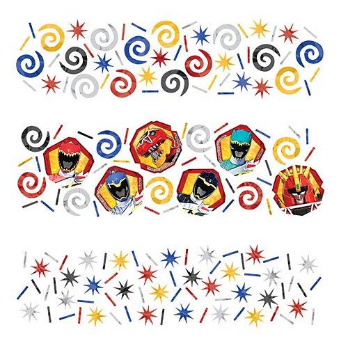 Power Rangers Ninja Steel Value Confetti, Party Favor -