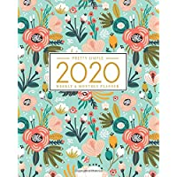 Image for Pretty Simple Planners Weekly and Monthly Planner and Organizer: Calendar Schedule + Agenda | Inspirational Quotes | Floral Mint Cover (2020 Planner)