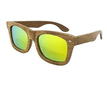 "Tommy D. Gafas ""de bambú carbonizado"" de madera Gafas de sol -"