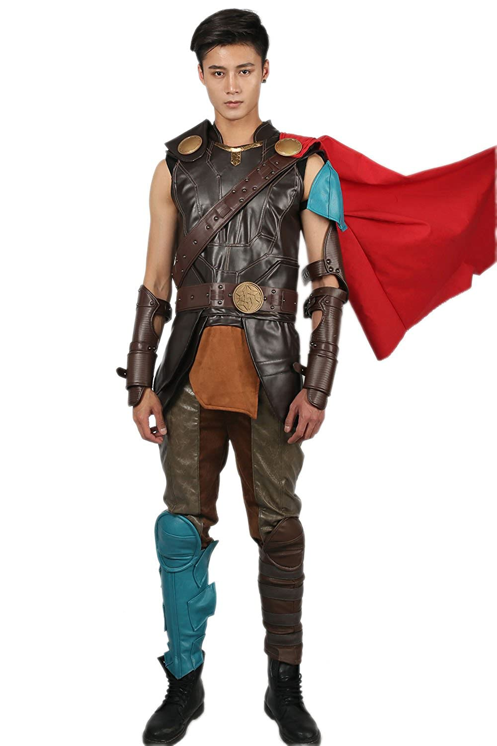 Thor: Ragnarok  Men's Thor 3 PU Leather Costume - DeluxeAdultCostumes.com