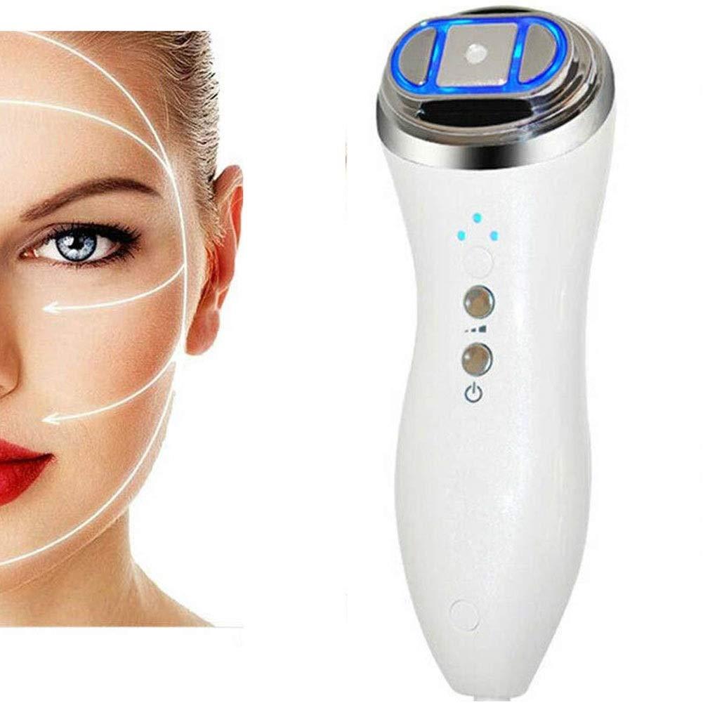 Facial HIFU Skin Care Machine, Facial Lifting Massager Machine, High Intensity Focused Face Lift RF LED Skin Rejuvenation Machine, Face Lift Tighten Skin Firming Whitening,Wrinkles Remove Anti-Aging B by Jeann