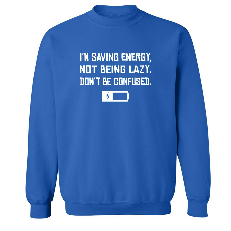 zerogravitee Im Saving Energy Crewneck Sweatshirt