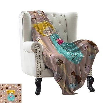 Amazon.com: LsWOW - Manta de franela con diseño de animales ...