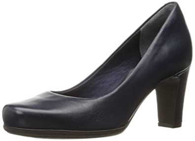 Rockport Women's TM75MMH Dress Pump, Deep Ocean Nappa, ...