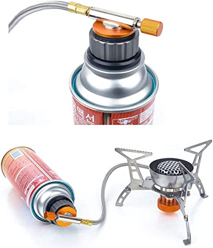 Gas Stove Adapter Cooking Burner Accessory Connector Valve Portable Tool Camping