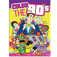 Adult Coloring Books: Color the 90's: The Ultimate 90's Coloring Book for Adults (Best Sellers)