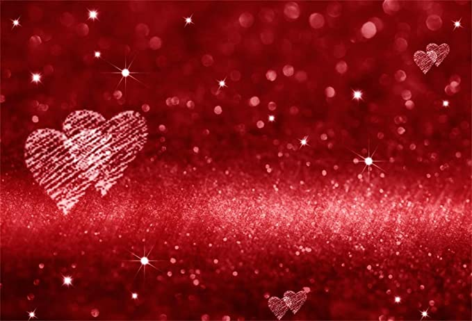 6x6ft Polyester Backdrop Red and White Christmas Fireplace Photography Background Modern Style Interior Red Hearts Pendants Rose Flower Heart Toy Lover Party Girls Portraits Photo Studio Props