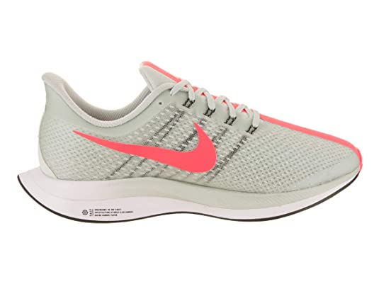 Nike W Zoom Pegasus 35 Turbo, Zapatillas para Mujer, (Barely Grey/Hot Punch/Black/White 001), 42.5 EU: Amazon.es: Zapatos y complementos