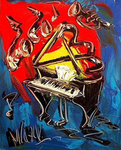 "24"" Original Paintings - Artwork - New York - Landscape - Wine - Still Life - Cityscape -Trees - Music - Jazz - Hearts- Pop Art - Modern"