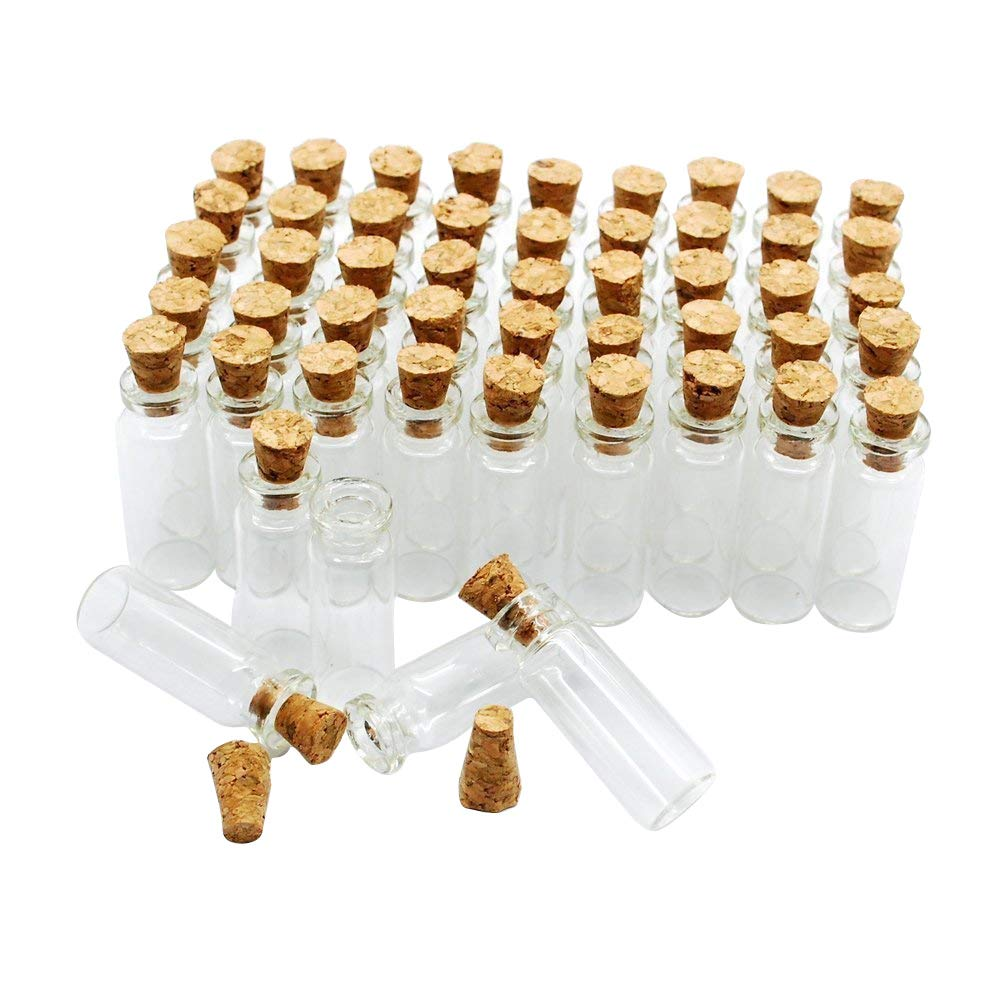 2.2 cm Mini Glass Bottles
