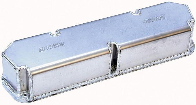 Gasket Fabricated Aluminum Valve Covers Mr Gasket 6861BG Mr Black Finish