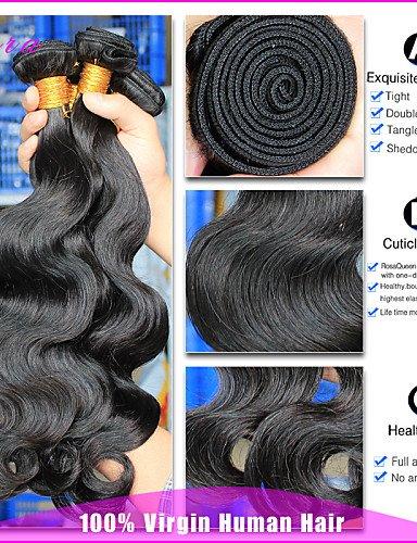 Vierges Indiens Humains Black Vague De Regroupe Non 14 Produits Cheveux JffLes Corps 100Cara Transformés natural Indiennes 14 3 5ARL34j