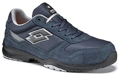 Lotto Scarpe Antinfortunistiche Works Flex Evo S1P SRC HRO Blu- Memory Foam  771198