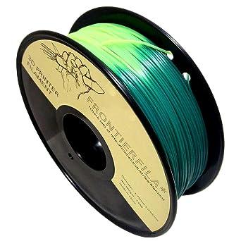 PLA termocrómico 1kg 1.75mm verde/amarillo - Filamento para impresora 3D - FrontierFila
