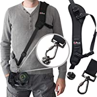 Camera Strap,Camera Sling Strap with Quick Release Plate, Adjustable and Comfortable Neck/Shoulder Belt for DSLR/SLR Camera (Nikon, Canon, Sony) Universal Belt