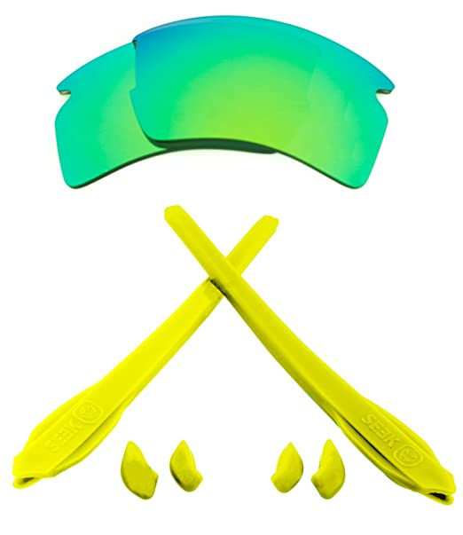 Best New SEEK - Kit de lentes y goma para Oakley FLAK 2.0 XL Pick Your 04521dfe13