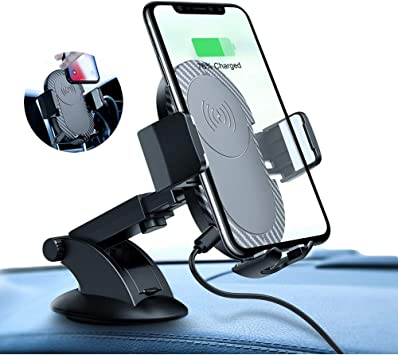 Wireless Car Charger Mount,Car Air Vent Mount Qi Wireless