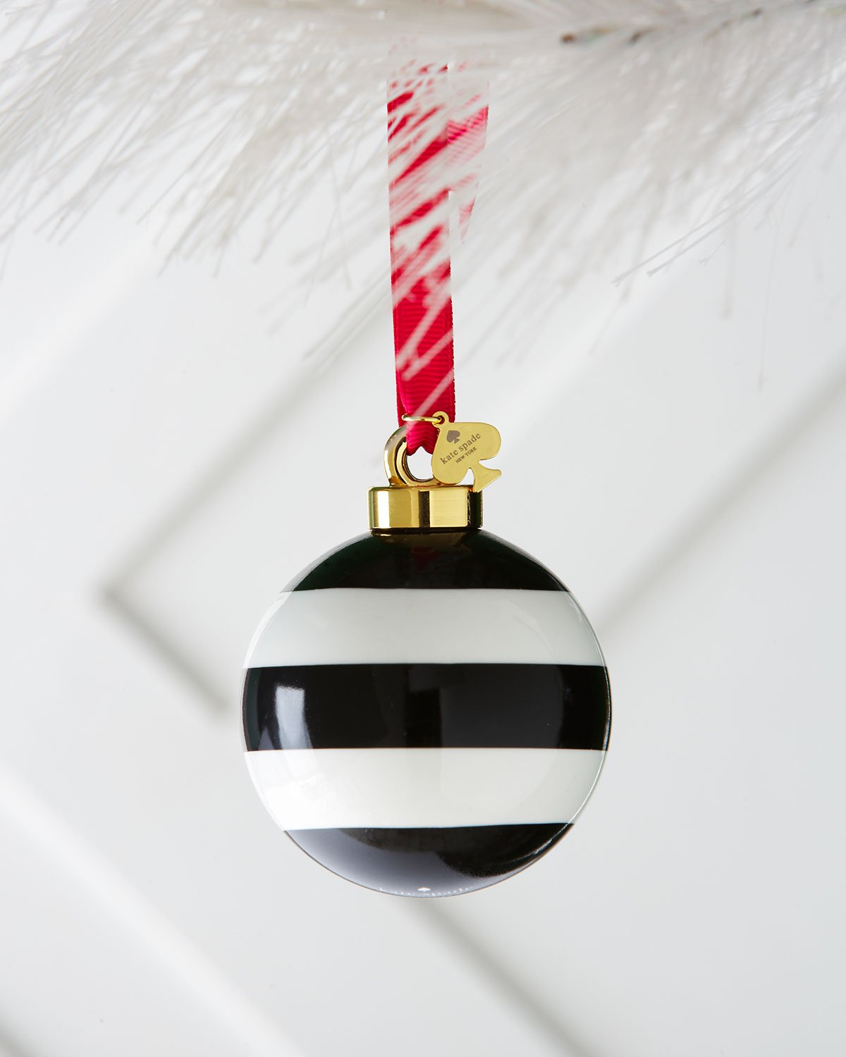 Amazon.com: Kate Spade New York Deck The Halls Stripe Christmas ...